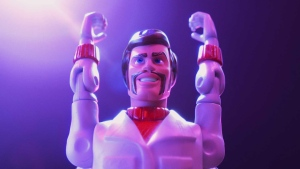 "The character ""Duke Caboom"" from Disney and Pixar's ""Toy Story 4"" is seen in this undated handout photo. The moment Pixar animator Benjamin Su learned the newest ""Toy Story"" saga would debut a Canadian character, he jumped aboard. Who better to infuse a Canuck toy with Maple Leaf nuance than an actual Canadian, he thought? It turned out he would have some competition. THE CANADIAN PRESS/HO, Disney-Pixar"