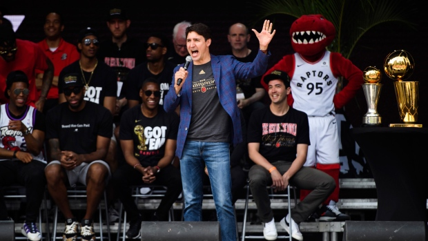 Trump considers inviting Toronto Raptors to White House after National Basketball Association championship win