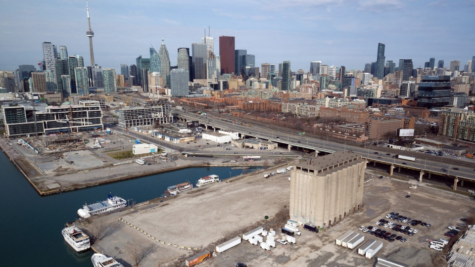Toronto's Eastern Waterfront is seen in this undated handout photo. THE CANADIAN PRESS/HO, Sidewalk Labs