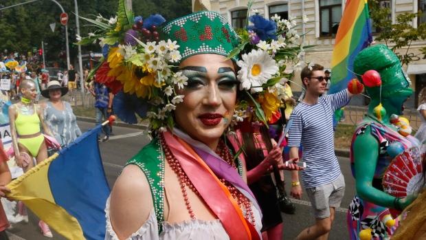 Gay Pride parade Ukraine