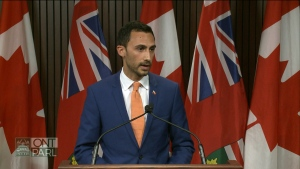 Minister of Education Stephen Lecce is expected to make the announcement of the new curriculum with a focus on online safety.