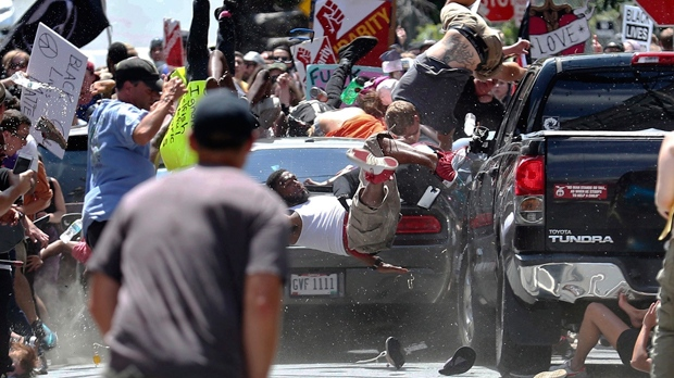 Man who plowed in Charlottesville crowd sentenced to life in prison