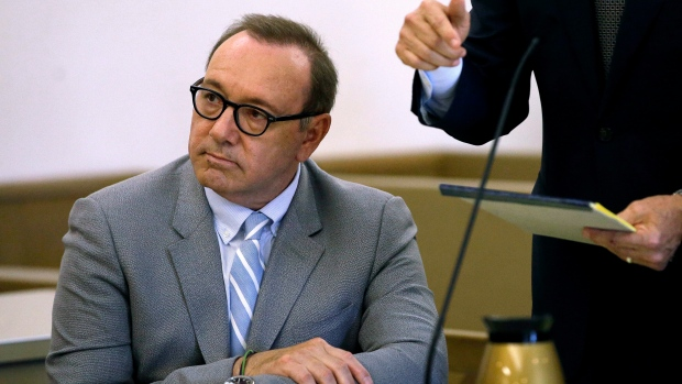 Spacey Accuser Denies Altering Texts About Alleged Groping