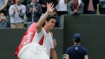 Canada's Milos Raonic has pulled out of this year's U.S. Open due to injury. (File/AP Photo/Tim Ireland)