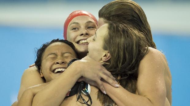 Canada swim