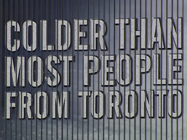 Molson says it will take down 44 billboards across B.C. that poked fun at Toronto. August 18, 2009.