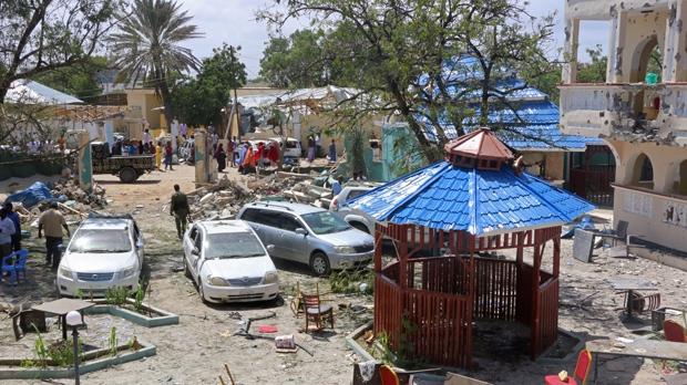 Kismayo hotel attack
