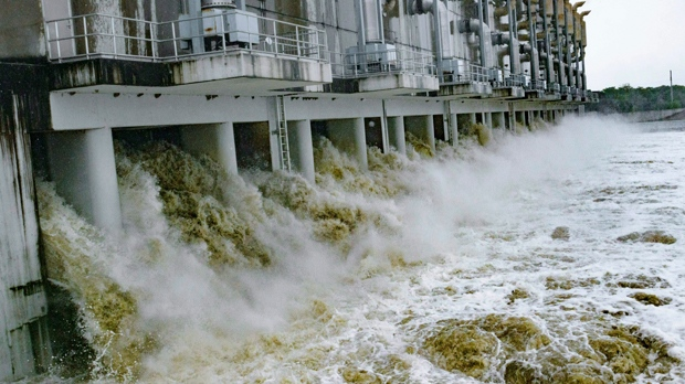 Gulf flooding