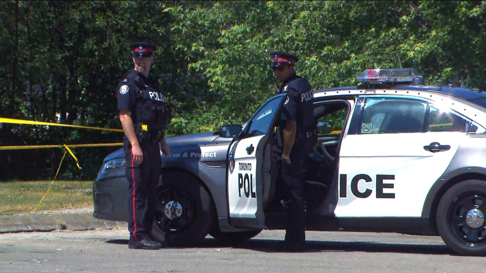 Toronto police are treating the discovery of a decomposed body at Bluffers Park on July 14, 2019.