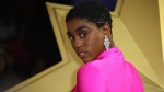 Actress Lashana Lynch poses for photographers upon arrival at the European Gala of Captain Marvel at a central London cinema, Wednesday, Feb. 27, 2019. (Photo by Joel C Ryan/Invision/AP)