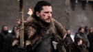 "This image released by HBO shows Kit Harington in a scene from ""Game of Thrones."" On Tuesday, July 16, 2019, Harington was nominated for an Emmy Award for outstanding lead actor in a drama series. (HBO via AP)"