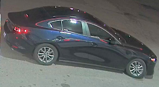 Police investigating a sexual assault in Burlington on Canada Day say they are trying to locate a vehicle seen at a Shell gas station at the same time the victim was there. (Halton Regional Police)