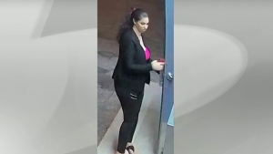 Police are looking for a woman who may have been a witness to a sexual assault.