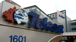 Telesat's corporate headquarters is shown in Ottawa, Monday, December 18, 2006.  THE CANADIAN PRESS/Fred Chartrand