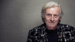 This Jan. 19, 2013 file photo shows actor Rutger Hauer at the Sundance Film Festival in Park City, Utah.  (Photo by Victoria Will/Invision/AP, File)