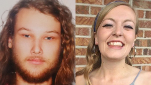 Lucas Fowler and Chynna Deese are shown in images provided by the RCMP. (RCMP)