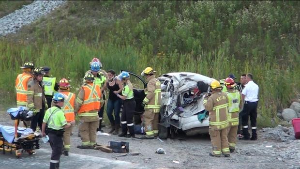 Vehicle in fatal 407 crash crossed centre median   CP24 com