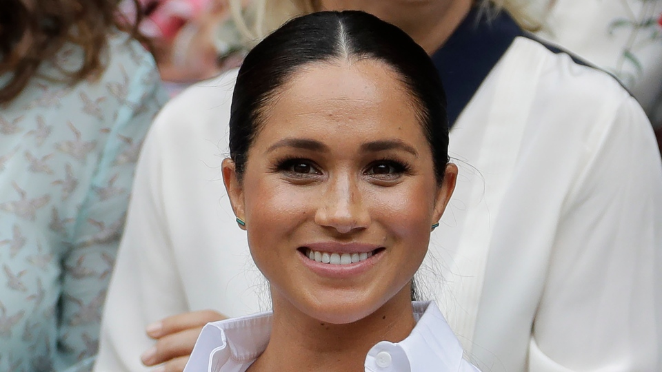 "Meghan, Duchess of Sussex, has guest edited the September issue of British Vogue with the theme ""Forces for Change.""  (AP Photo/Ben Curtis, File)"