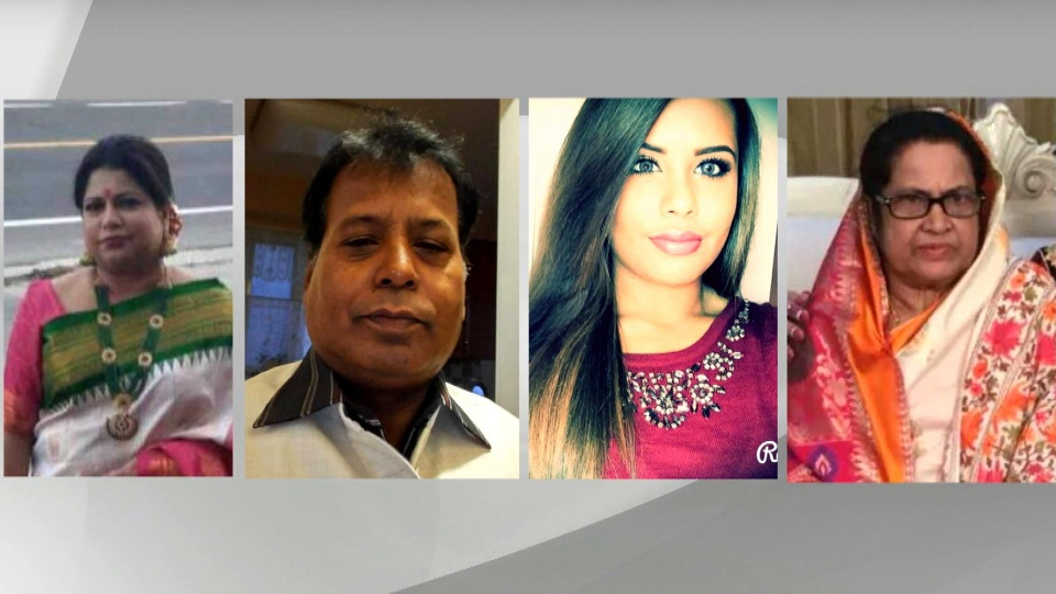 A source has confirmed to CTV News that the four victims found dead at a Markham home Sunday July 28, 2019 are the suspect's mother, father, sister and grandmother. (Facebook)