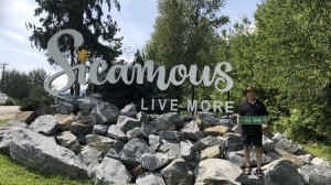The tourist town of Sicamous, B.C., is capitalizing off a summer smash hit that has the same name as one of its thoroughfares. Sicamous mayor Terry Rysz poses for an undated handout photo. The town has decided to start printing up signs of Old Town Road -- the popular Lil Nas X and Billy Ray Cyrus tune -- and selling them for $25 each. THE CANADIAN PRESS/HO-Joe McCulloch