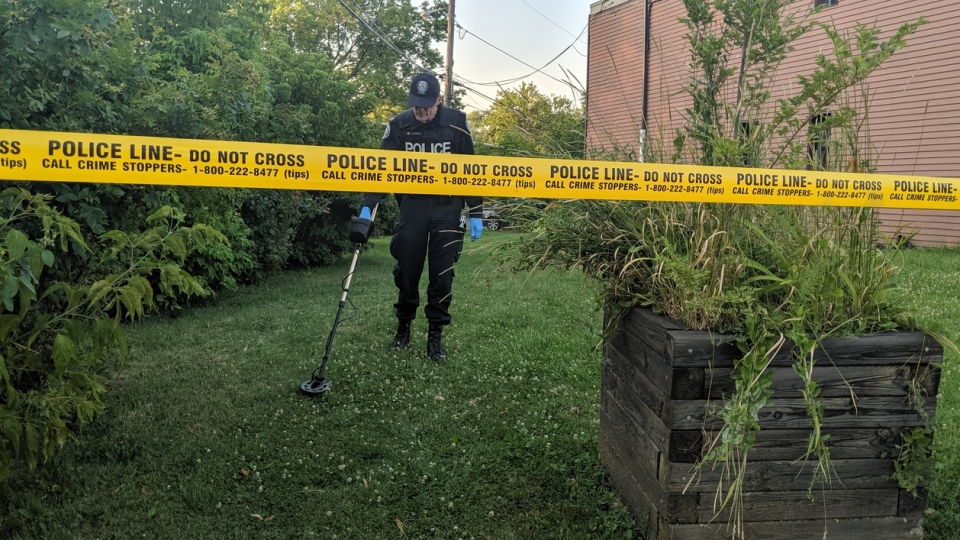 Toronto police are investigating a shooting on Lawrence Heights on Monday afternoon. (CP24/Leena Latafat)