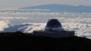 Astronomers across 11 observatories on Hawaii's tallest mountain have cancelled more than 2,000 hours of telescope viewing over the past four weeks because a protest blocked a road to the summit. Astronomers said Friday, Aug. 9, 2019, they will attempt to resume observations but in some cases won't be able to make up the missed research. (AP Photo/Caleb Jones/File Photo)