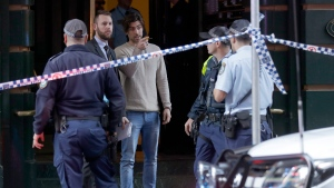 Sydney stabbing