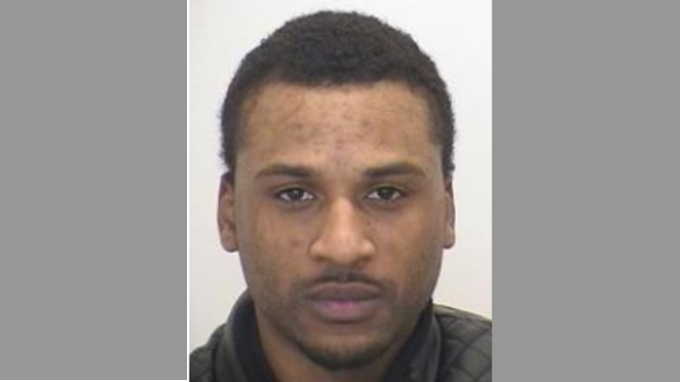 Police are looking for Michael Cleghorn, 31, who allegedly shot and seriously injured a woman, stole a police cruiser and then stole a second vehicle in Mississauga on Tuesday afternoon. (Peel police)