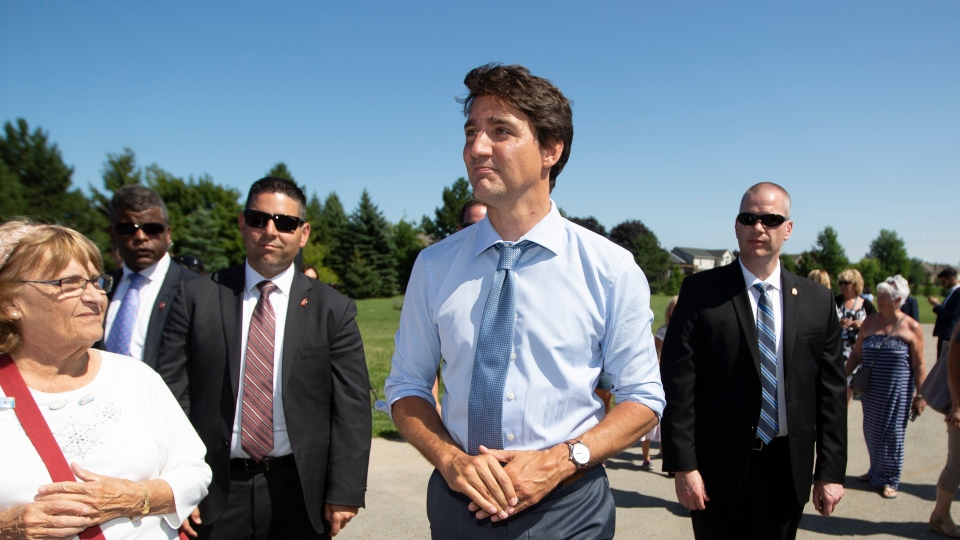 Justin Trudeau refused to apologize Wednesday for intervening in the SNC-Lavalin affair, even after the federal ethics watchdog concluded that the prime minister violated the Conflict of Interest Act. (THE CANADIAN PRESS/Peter Power)