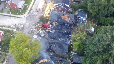 London home explosion