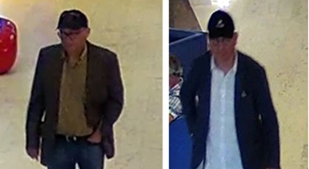 Toronto police seek two men allegedly stealing from tourists