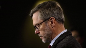 "John Letts, father of Jack Letts, British Muslim convert and an alleged member of ISIS, announces plans to secure repatriation of Canadians who travelled to Syria during a press conference on Parliament Hill in Ottawa on Oct. 29, 2018. Public Safety Minister Ralph Goodale's office says the United Kingdom has ""off-loaded their responsibilities"" in revoking the citizenship of a British-Canadian man imprisoned in Syria. A statement released today from Goodale's office says ""Canada is disappointed"" that the U.K. government stripped Jack Letts of his British citizenship. THE CANADIAN PRESS/Sean Kilpatrick"