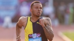 De Grasse, from Markham, Ont., was fifth in the 100-metre dash in 10.13 seconds on Sunday at the Diamond League event in Birmingham, England. (FILE PHOTO/THE CANADIAN PRESS/Paul Chiasson)