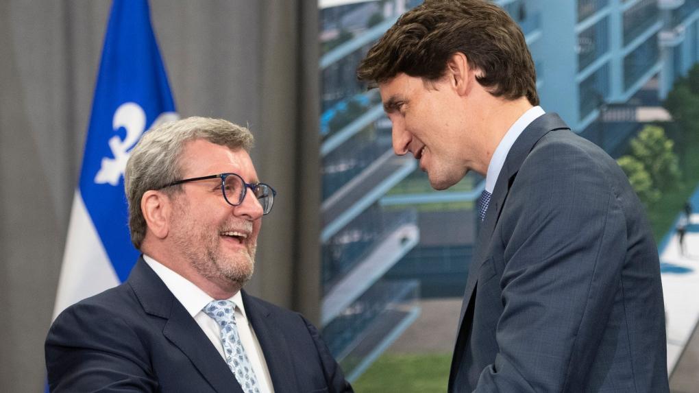 Trudeau promises Quebec City $1.2 billion for new tram, expanded transit network