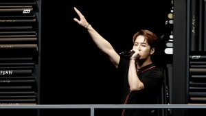 Jackson Wang is one of at least eight K-pop stars from China, Taiwan, and Hong Kong are publicly stating their support for the one-China policy, eliciting a mixture of disappointment and understanding from fans. (AP Photo/Luca Bruno, File)