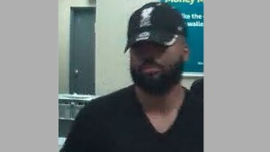 A suspect wanted in connection with a pizza delivery scam is pictured. (Handout /Toronto police)