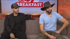 Dean Brody and Dallas Smith
