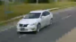 A suspect vehicle wanted in connection with a deadly hit-and-run near Midland and Sheppard avenues on Wednesday afternoon is shown in this surveillance camera image. (Toronto Police Service)