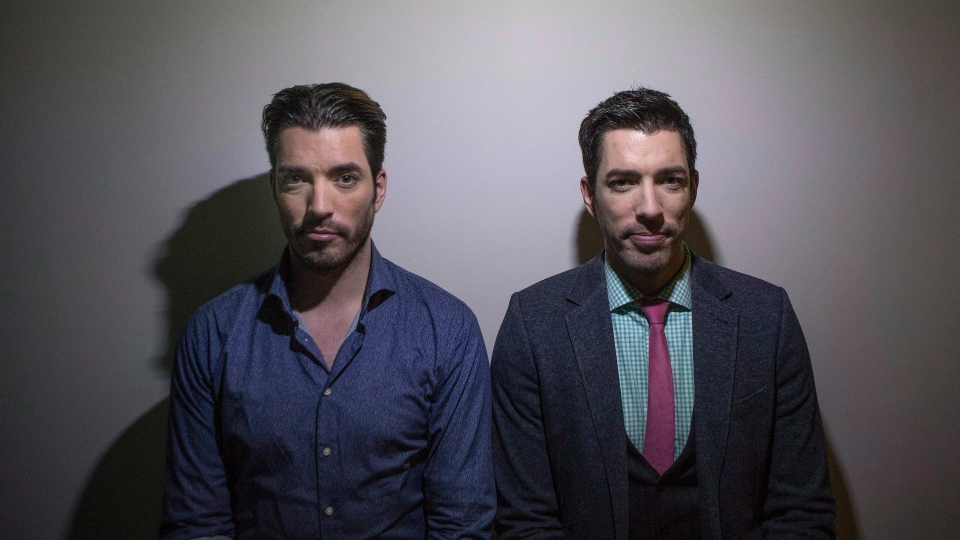 "Conan O'Brien has turned to real estate experts the Property Brothers for insight on whether the United States should purchase Greenland. Jonathan, left, and Drew Scott pose for a photo as they promote the new television series ""Property Brothers at Home"" in Toronto on Tuesday, Nov. 4, 2014. THE CANADIAN PRESS/Chris Young"