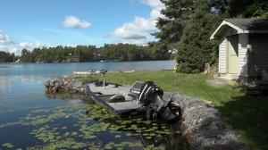 boat, Stoney Lake