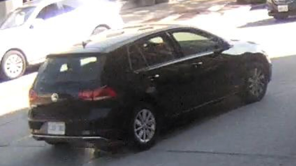 Police are looking for the driver of a Volkswagen Golf who was last seen in the area where a 91-year-old man died in Oakville. (Halton Police)