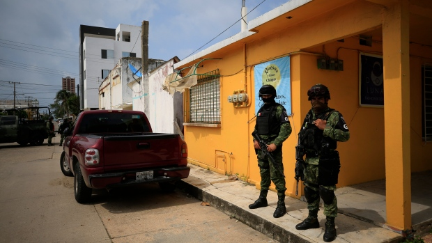 23 killed in suspected gang attack at bar in southern Mexico