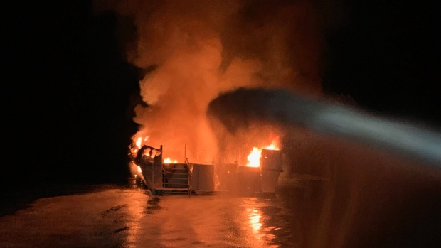 4 dead, 29 missing in California dive boat fire; crew jumped - CP24 Toronto's Breaking News