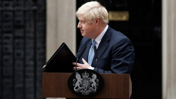 UK's Boris Johnson warns lawmakers against blocking no