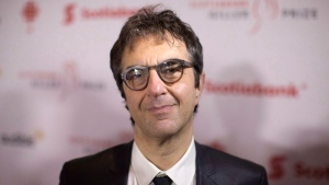 "Director Atom Egoyan arrives at the Giller Prize Awards ceremony in Toronto on Monday, November 20, 2017. TIFF regular Egoyan returns with a psychological drama centred on a ""deranged food inspector"" reeling from a family crisis as he targets ethnic restaurants in Hamilton. (THE CANADIAN PRESS/Chris Young)"