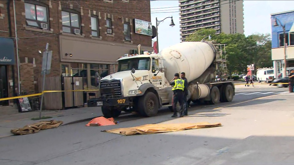 Tory announces meeting with construction officials after another pedestrian hit by large truck