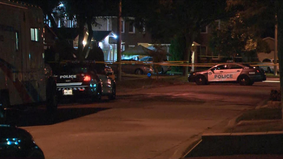 A woman in her 30s was killed after an apparent machete attack in Scarborough. (CP24)
