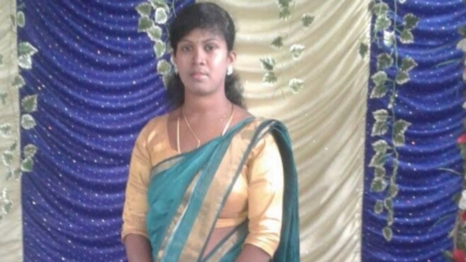 Tharshika Jeganathan, 27, is pictured. (Facebook)