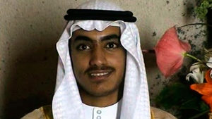 In this image from video released by the CIA, Hamza bin Laden, the son of of the late al-Qaida leader Osama bin Laden is seen as an adult at his wedding.  The White House says Hamza bin Laden has been killed in a U.S. counterterrorism operation in the Afghanistan-Pakistan region. A White House statement gives no further details, such as when Hamza bin Laden was killed or how the United States confirmed his death. (CIA via AP)