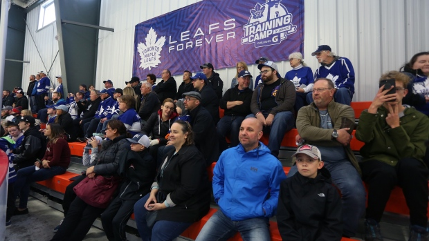 Leafs camp
